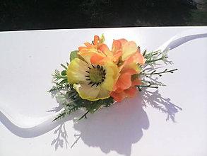 """Náramky - Kvetinový náramok """"Keď vstáva slnko"""" - 6944718_"""