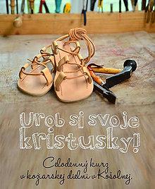 Kurzy - Kurz výroby sandálov - kristusiek - 6945158_