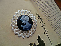 Odznaky/Brošne - Zo šperkovnice starej mamy - 6947077_