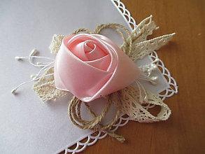Pierka - svadobné náramky pre družičky vintage - 6947201_