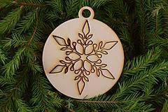 Drevené vianočné ozdoby 2v1 z dreva 49