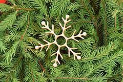 Dekorácie - Drevené vianočné ozdoby 2v1 z dreva 48 - 6946306_