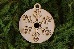 Drevené vianočné ozdoby 2v1 z dreva 48