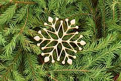 Dekorácie - Drevené vianočne ozdoby 2v1 z dreva 47 - 6946369_