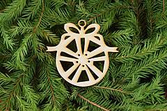 Drevené vianočne ozdoby z dreva 40