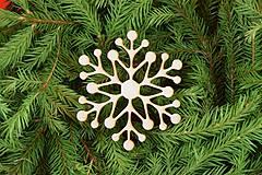 Dekorácie - Drevené vianočne ozdoby z dreva 33 - 6946408_