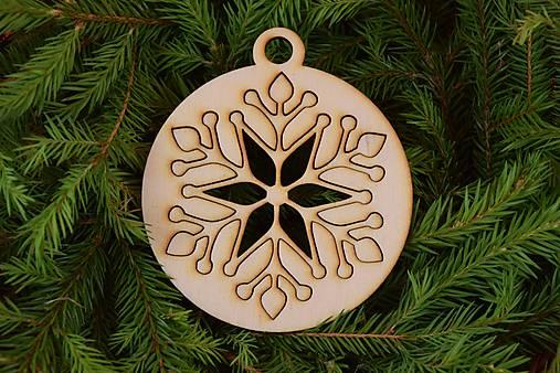Drevené vianočne ozdoby 2v1 z dreva 47