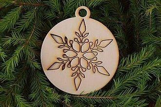 Dekorácie - Drevené vianočné ozdoby 2v1 z dreva 49 - 6946303_
