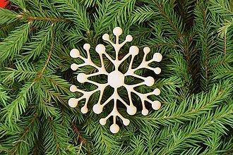 Dekorácie - Drevené vianočne ozdoby z dreva 38 - 6946399_