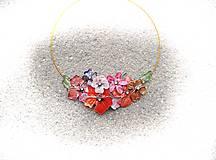 keď slnko zapadá ...folk náhrdelník