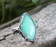 Prstene - Chryzopras - prsteň - 6949000_