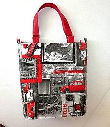 Veľké tašky - Taška - Paris. - 6947471_