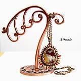 Náhrdelníky - Korálkový náhrdelník 589-0035 - 6951971_