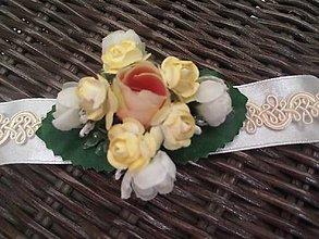 Náramky - náramok na svadbu - 6953184_