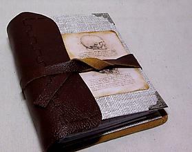 Papiernictvo - Zanietený zdravotník (karisblok, koža) - 6952791_