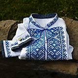 Oblečenie - Modrá krížiková - 6952644_