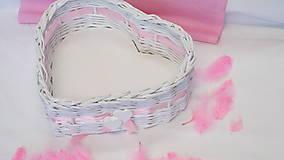 - Košík-Srdiečko v ružovom - 6951572_