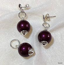 Sady šperkov - Perlový set Swarovski - 6952071_