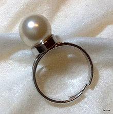 Prstene - Prsteň s perlou \