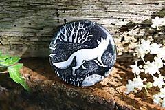 Odznaky/Brošne - Placka s liškou - 6952725_
