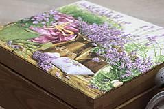 Krabičky - HM - Krabička na čaj - 4 priehradková - 6951180_