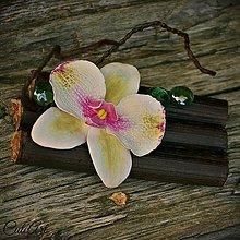 Dekorácie - Zen - dekorácia s orchideou - 6952847_