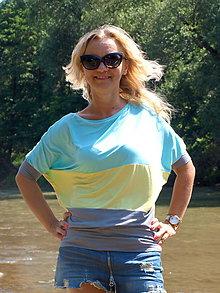 Tričká - Trojfarebné tričko - 6952147_