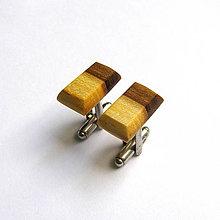 Šperky - Agátové dvojfarebné - 6952966_
