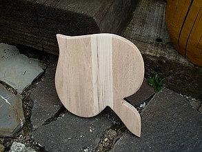 Pomôcky - Lipový lístok z tvrdého dreva - 6954816_
