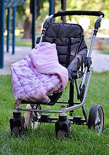 Textil - Prešívané zateplené deky s úchytom - 6954461_