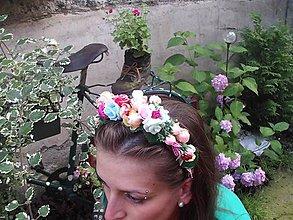 Ozdoby do vlasov - Letná romanca - 6955759_