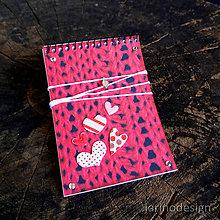 Papiernictvo - Špirálový bloček A7 - sveter - 6953557_