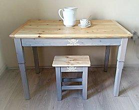 Nábytok - Kuchynský stôl Anna - 6955472_