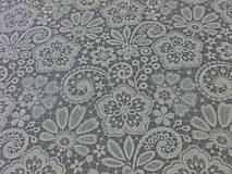 Textil - Bavlnená látka Ornament I - cena za 10 cm - 6956450_
