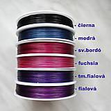 Galantéria - Nylon.lanko 0,38mm-cca 70m - 6955320_