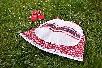 Detské oblečenie - Detská folklórna sukňa - 6956759_
