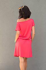 Šaty - letné ružové - 6955609_