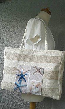 Veľké tašky - Režná kabelka - 6954748_
