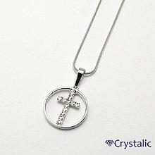 Náhrdelníky - Štrasový náhrdelník - 6958892_