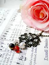 Náhrdelníky - Vintage Pearls & Jade / Romantický náhrdelník s minerálmi - 6958261_