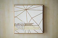 Papiernictvo - Leporelo / kniha hostí SRDCE - 6957428_