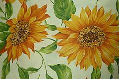 Textil - Látka Slnečnice - 6958465_