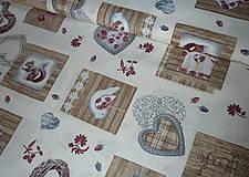 Textil - Látka Vintage na vanilkovej - 6958476_