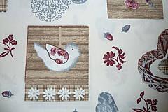 Textil - Látka Vintage na vanilkovej - 6958491_
