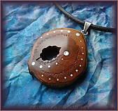 Náhrdelníky - 484. drevený náhrdelník - Čerešňa - 6958349_
