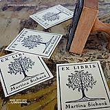 - Strom v rámečku: pečiatka: 4x5 cm - 6959545_