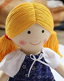 Hračky - látková bábika Mirka - 6960021_