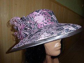 Čiapky - Spoločenský klobúk - 6959433_