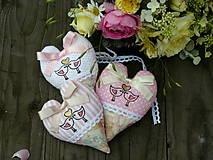 """Darčeky pre svadobčanov - srdiečka """"Zlato v srdci"""" sada na želanie - 6962355_"""