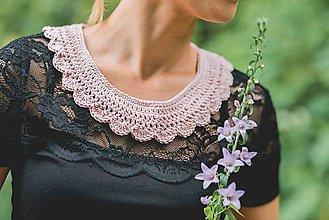Náhrdelníky - Rose romantik - 6961523_